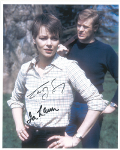 "Ian McCulloch & Carolyn Seymour,  ""Survivors"", Doctor Who, Zombie 10220"